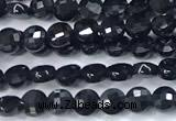 CCB1364 15 inches 2.5mm faceted coin tourmaline beads