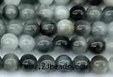 CEE555 15 inches 4mm round eagle eye jasper beads